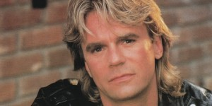 The man, the myth, the mullet...  Richard Dean Anderson, the man who made MacGyver famous!