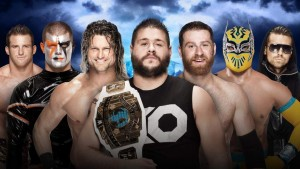 This motley crew will battle it out for IC gold, as Kevin Owens puts his title on the line, in a Ladder Match!